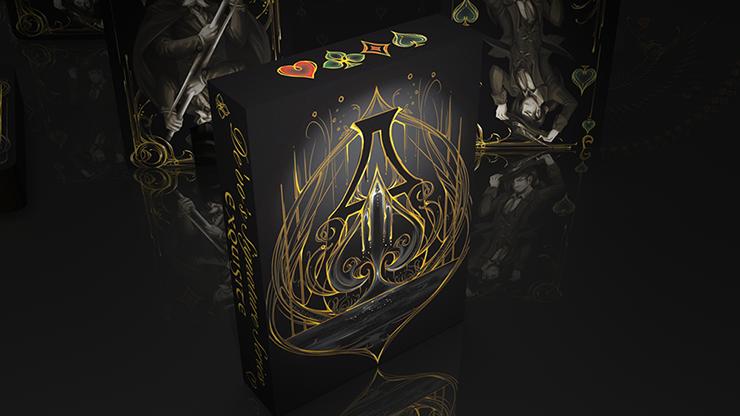 Black Exquisite Special Players Edition by De'vo vom Schattenreich and Handlordz Poker Spielkarten Kartenspiel