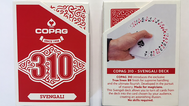 Copag 310 Svengali (Red) Playing Cards