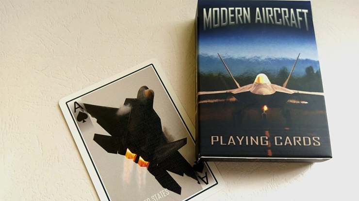 Modern Aircraft Playing Cards Poker Kartenspiel Spielkarten