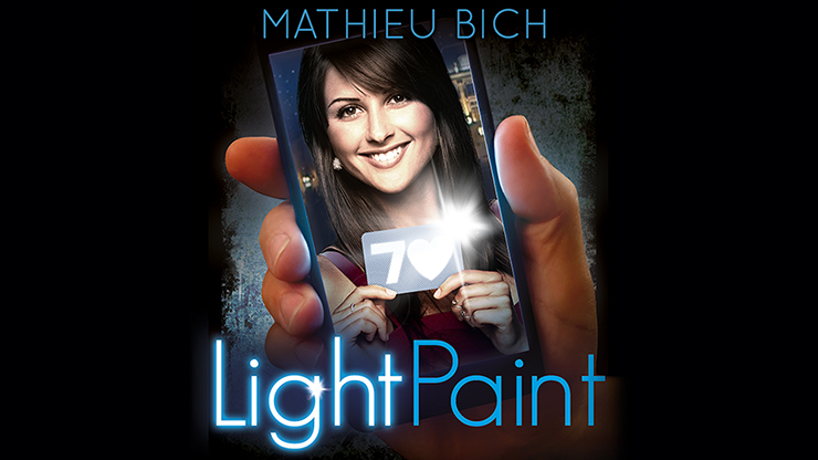 LightPaint by Mathieu Bich and Gentlemen's Magic - Trick