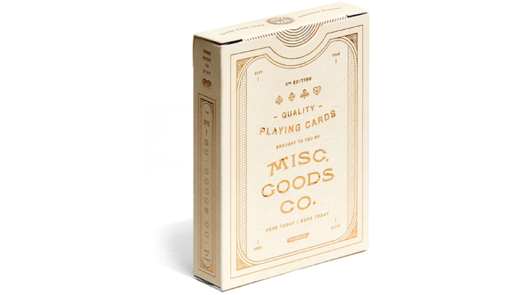 The MGCO Ivory Playing Cards