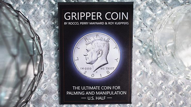 Gripper Coin (Single/U.S. 50) by Rocco Silano
