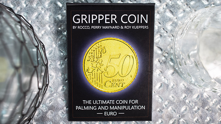 Gripper Coin (Single/Euro) by Rocco Silano