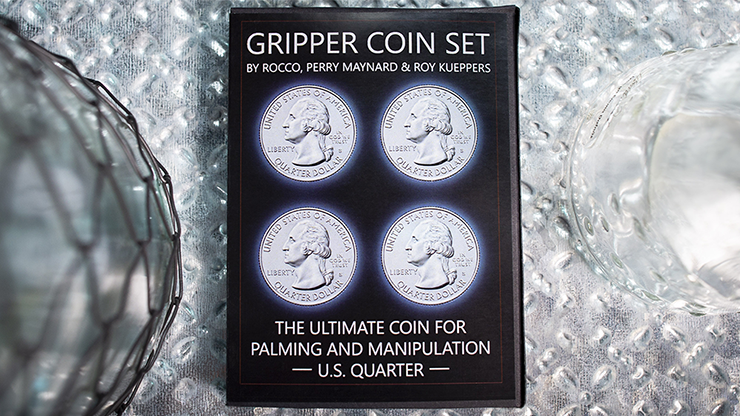 Gripper Coin (Set/U.S. 25) by Rocco Silano - Trick
