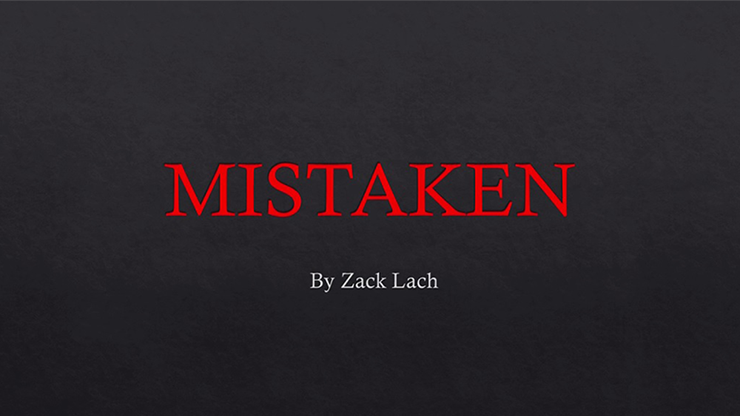 Mistaken by Zack Lach video DOWNLOAD
