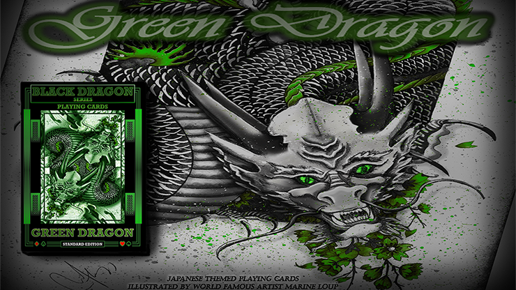 Green Dragon Playing Cards (Standard Edition) & Craig Maidment