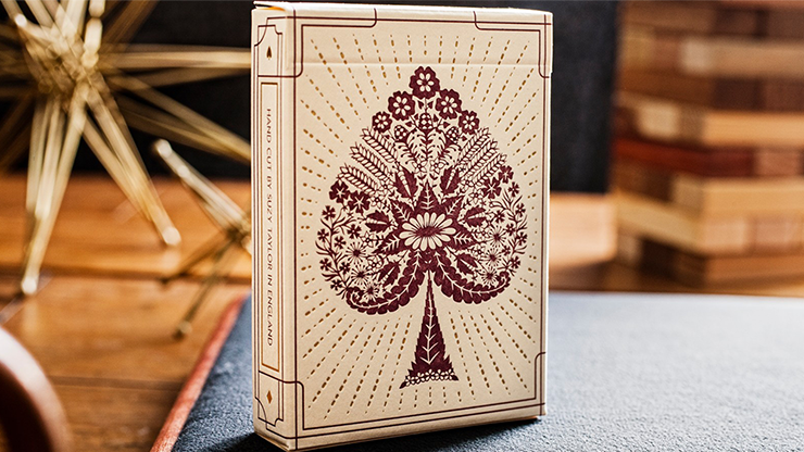 Papercuts: Intricate Hand-cut Playing Cards & Suzy Taylor