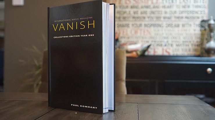 VANISH MAGIC MAGAZINE Collectors Edition Year One (Hardcover) & Vanish Magazine