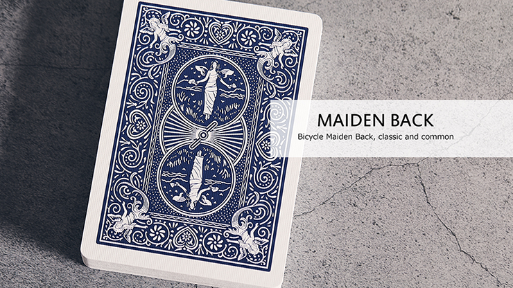 Cartas Bicycle Maiden Marked Playing Cards (Blue)