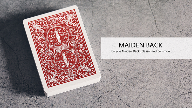 Bicycle Maiden Marked Playing Cards (Red) Markiertes Kartenspiel