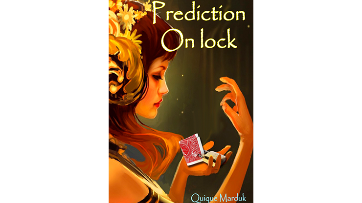 Prediction On Lock - Blue by Quique Marduk