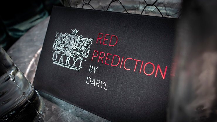 The Red Prediction (Gimmicks and Online Instruction) by DARYL- Trick
