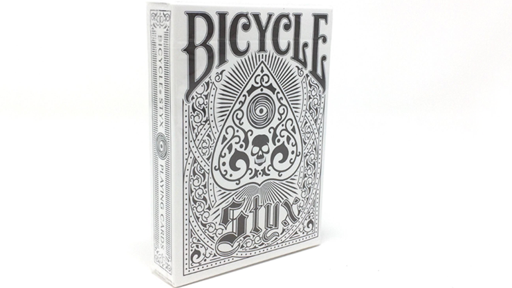 Bicycle Styx Playing Cards (White) by US Playing Card Company Poker Kartenspiel Spielkarten