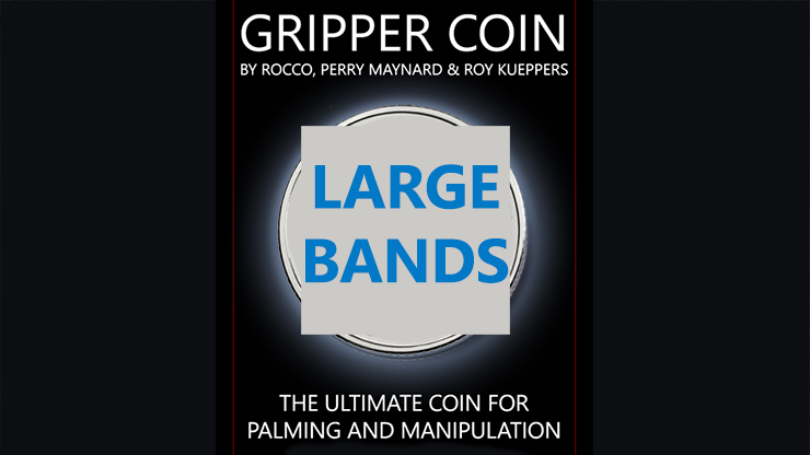 Gripper Coin Bands (Large) - Rocco Silano