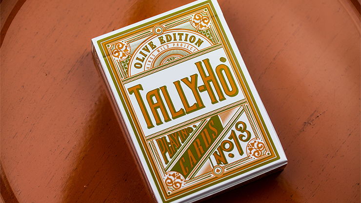 Olive Tally Ho Playing Cards - Jackson Robinson