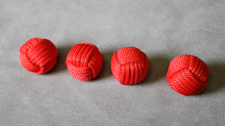 Monkey Fist Cups and Balls (4 Balls) by Leo Smetsters