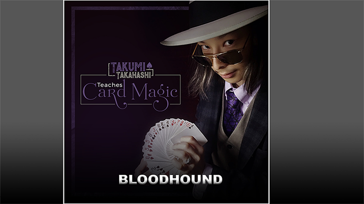 Takumi Takahashi Teaches Card Magic Blood Hound video DOWNLOAD