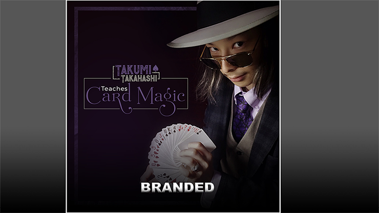 Takumi Takahashi Teaches Card Magic Branded video DOWNLOAD