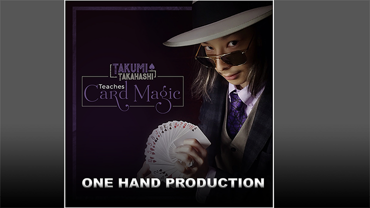 Takumi Takahashi Teaches Card Magic One Hand Production video DOWNLOAD