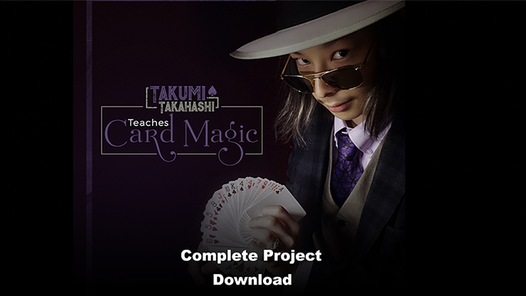 Takumi Takahashi Teaches Card Magic (Complete Project) video DOWNLOAD