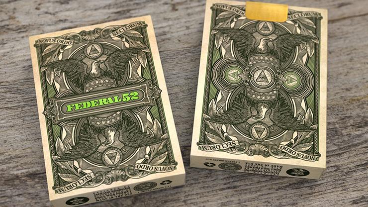 Federal 52 2nd Edition Playing Cards by Jackson Robinson Poker Kartenspiel Spielkarten
