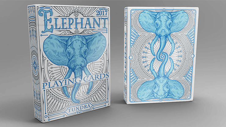 Elephant Playing Cards (Tundra) Poker Kartenspiel Spielkarten