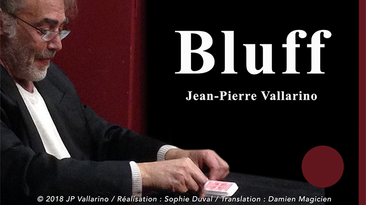 Bluff (Red with Online Instructions) by Jean-Pierre Vallarino