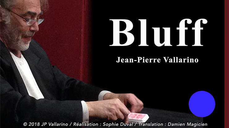 Bluff (Blue with Online Instructions) by Jean-Pierre Vallarino Letzte Karte im Deck stimmt mit Voraussage überein