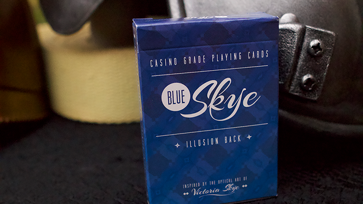 Blue Skye Playing Cards - UK Magic Studios & Victoria Skye
