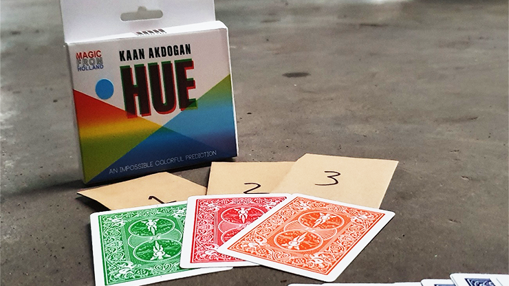 HUE Red (Gimmicks and Online Instructions) - Kaan Akdogan and MagicfromHolland