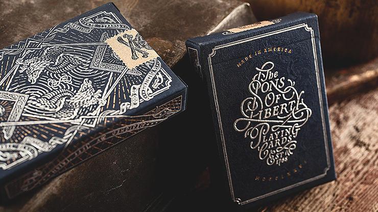 Sons Of Liberty Playing Cards by Art of Play Poker Kartenspiel Spielkarten
