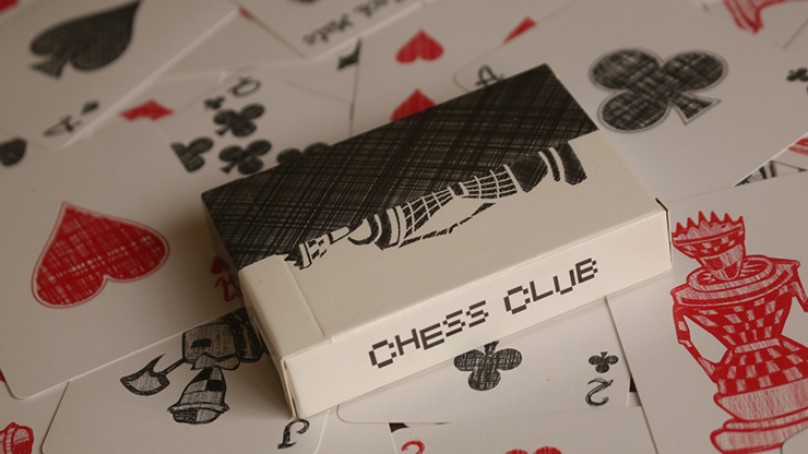 Chess Club Limited Edition Playing Cards by Magic Encarta