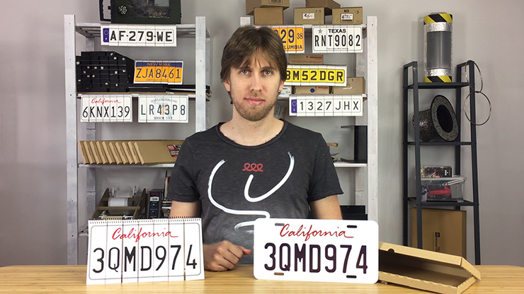 LICENSE PLATE PREDICTION - CALIFORNIA (Gimmicks & Instrucciones Online) - Martin Andersen