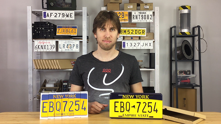 LICENSE PLATE PREDICTION - NEW YORK (Gimmicks & Instrucciones Online) - Martin Andersen