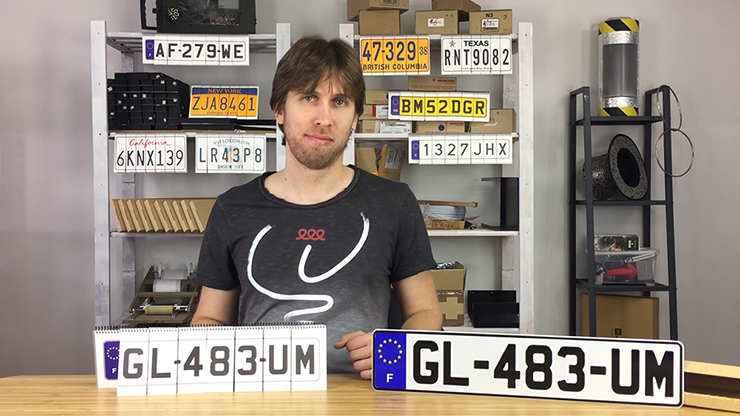 LICENSE PLATE PREDICTION - FRANCE (Gimmicks & Instrucciones Online) - Martin Andersen