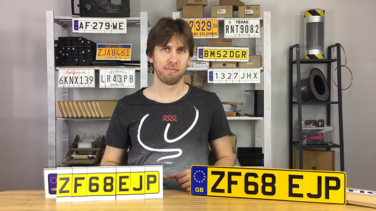 LICENSE PLATE PREDICTION - UNITED KINGDOM (Gimmicks and Online Instructions) by Martin Andersen
