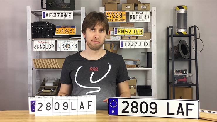 LICENSE PLATE PREDICTION - SPAIN (Gimmicks and Online Instructions) by Martin Andersen