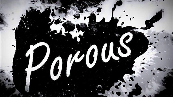 Porous by Seth Race (Gimmick and Online Instructions) by Seth Race Sharpie-Logo auf Geldschein