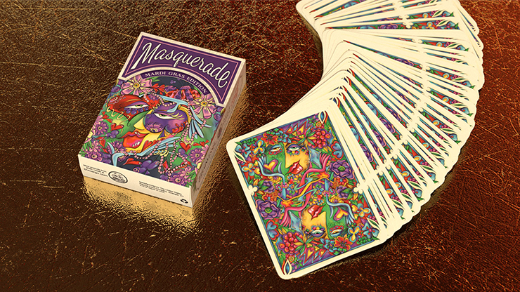 Masquerade: Mardi Gras Edition Playing Cards - Denyse Klette