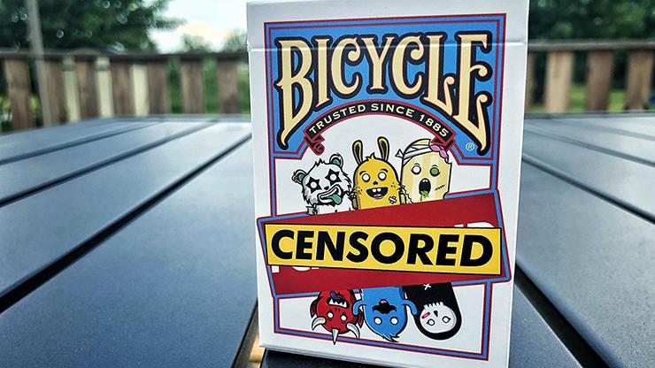 Bicycle Censored Playing Cards Poker Kartenspiel Spielkarten