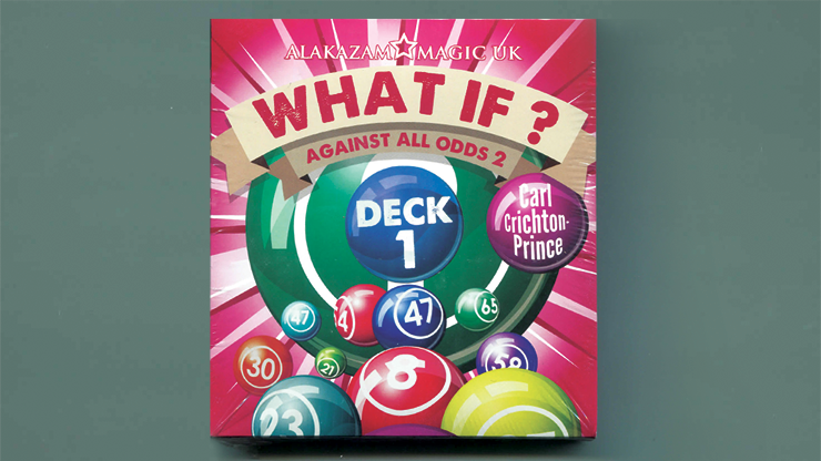 What If? (Deck 1  Gimmick and DVD) by Carl Crichton-Prince