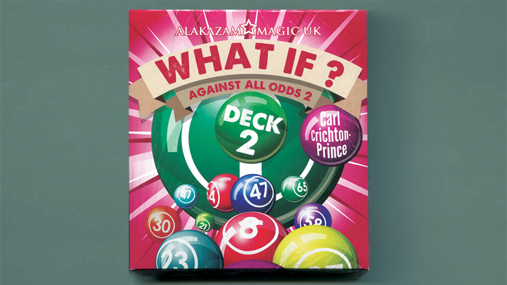 What If? (Deck 2  Gimmick and DVD) by Carl Crichton-Prince