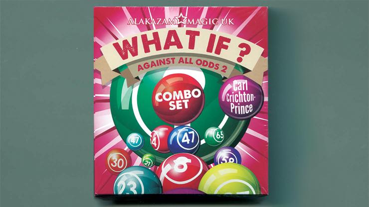 What If? (2 Decks Gimmick and DVD) by Carl Crichton-Prince Lotteriezahlen voraussagen