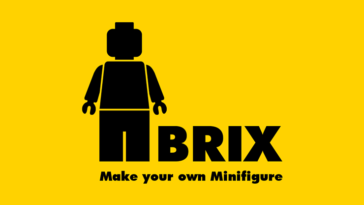 BRIX (Gimmick and Online Instructions) by Mr. Pearl and ARCANA Kartenvoraussage mit Lego-Karten und -Figuren