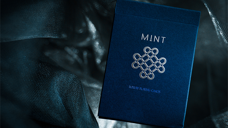 Mint 2 Playing Cards (Blueberry)