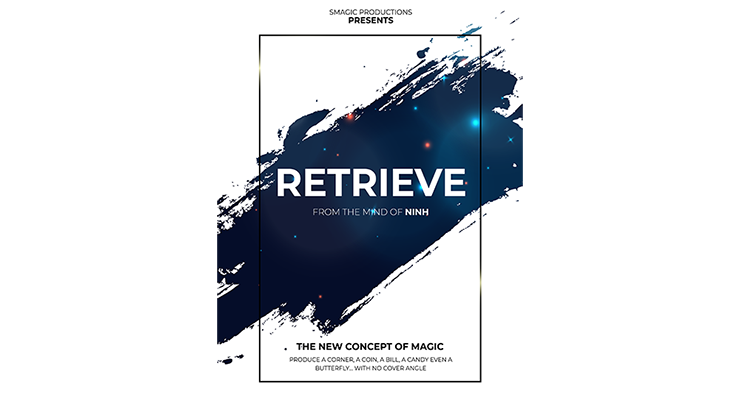 RETRIEVE (Gimmick and Online Instructions) by Smagic Productions Blitzartig Gegenstände produzieren