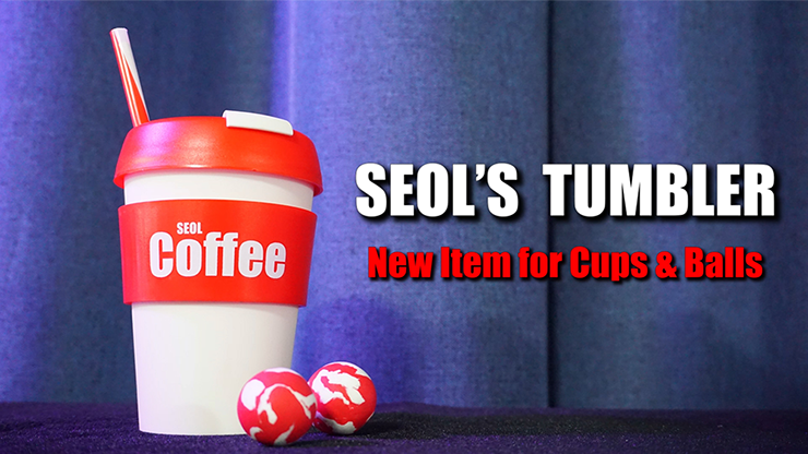 SEOL'S TUMBLER (Cup & Ball With Straw) by Seol Park