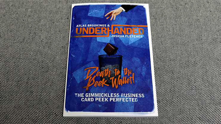 Underhanded by Atlas Brookings and Joshua Fletcher Zauberbuch, neue Peek-Methode