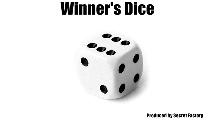 Winners Dice (Gimmicks and Online Instruction) by Secret Factory