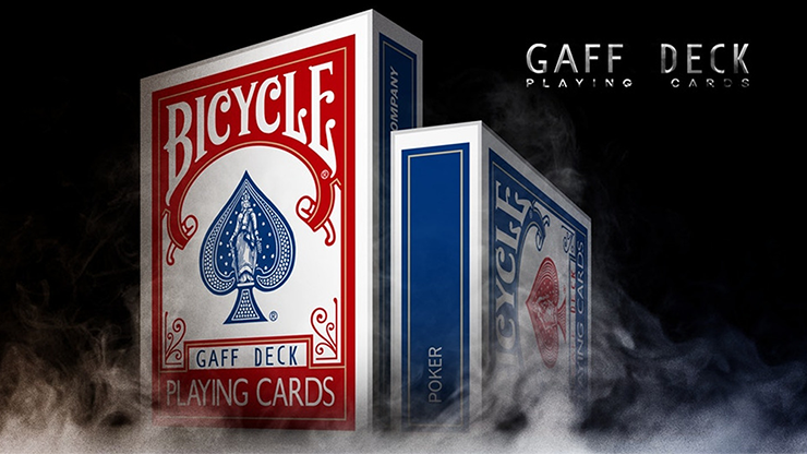 Bicycle Gaff Rider Back (Blue) Playing Cards by Bocopo